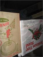 Dillard fiber optic Santa in original box