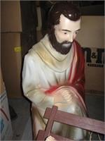 Nativity blow molds