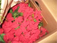 Box of large pinecones