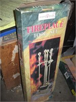 Hart & Holm fireplace tool set