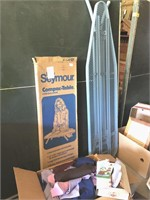 Material and ironing boards