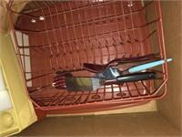 Kitchen items and drape hooks