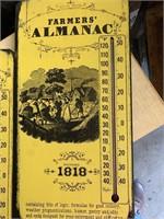 Farmers almanac thermometers