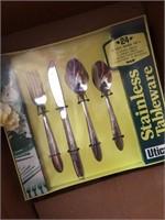 Stainless tableware