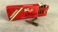 (20) Federal 180gr 308 Winchester SP Ammo
