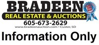 Meyer Personal Property Auction--Lead, SD