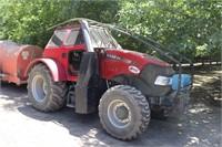 (2) CASE IH 120C Tractors, Cab, MFWD