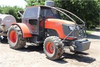 KUBOTA M108S Tractor, Cab, MFWD
