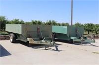 (2) JESSIE Transfer Carts