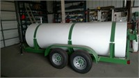 Custom 1000 Gallon Fuel Wagon