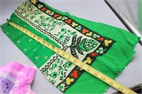 (4) Vintage Silk Scarves