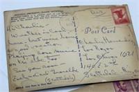 Jumping Jack Firecrackers, Pocket Knives, Postcard
