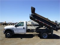 2005 Ford F550 S/A Dump Truck