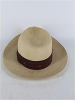 """""""The Colonel"""" Hand Woven Hat-ROPER's Burley, Idaho"""