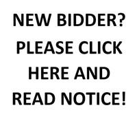 NEW BIDDER INFO!