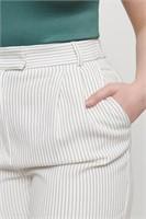 DYNAMITE Gigi Pin-Striped Carrot Pant- M