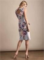 MELANIE LYNE Sleeveless floral dress- 10