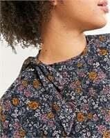 REITMANS Long Sleeve Printed Tee with Bow - XXL