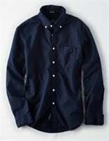 American Eagle Oxford Button-Up Shirt- S
