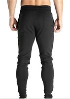 BROKIG Mens Gym Athletic Pants Sport Joggers- XXL