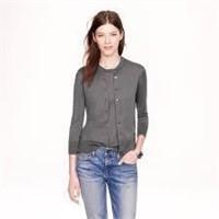 J. CREW Cotton-blend Jackie cardigan sweater- XS