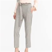 JCrew Tie-Front Pant Lightweight Bi-stretch Wool-6