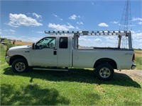 2004 Ford F250 4x4 Lariat w/ leather