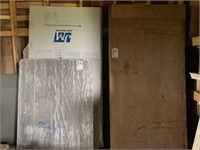 """5/8"""" Tongue & Groove Plywood and Foam Board"""