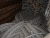 Lot of PVC Electrical Conduit Elbows