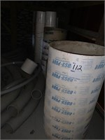 Lot of Sono-Tube forms and buckets