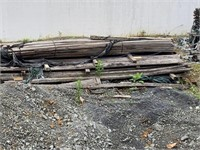 Lot of weathered wood