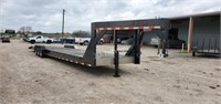 385-JDN-Enclosed trailers & Branson tractor and more