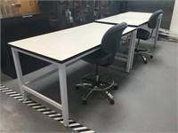Lab Desks w/ Power Strip