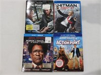 Lot of (4) Asst. Blu-Ray Movies