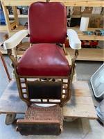 comics / radio's / Barber Chair