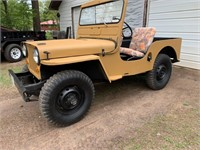 1953 Jeep Willys Overland