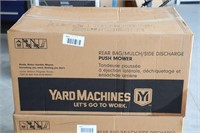 UNUSED YARD MACHINES PUSH MOWER