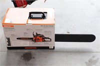 """UNUSED REMINGTON 42CC 16"""" CHAINSAW WITH CASE"""
