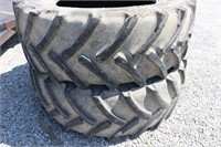 PAIR OF CONTACT AC 65 650/65R42 TIRES