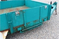 6' X 15' TANDEM AXLE STEEL DECK TRAILER WITH