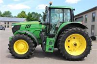 2016 JOHN DEERE 6155M MFWD TRACTOR - 1991 HRS