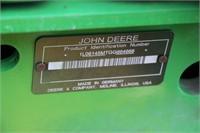 2016 JOHN DEERE 6145M MFWD TRACTOR - 1737HRS
