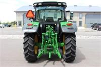 2016 JOHN DEERE 6130R MFWD TRACTOR -2118 HRS