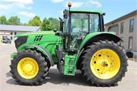 2016 JOHN DEERE 6155M MFWD TRACTOR - 2106 HRS
