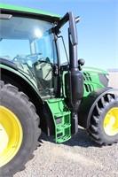 2015 JOHN DEERE 6130R MFWD TRACTOR  1541HRS