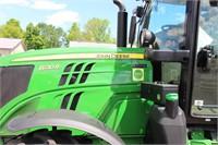 2016 JOHN DEERE 6130R MFWD TRACTOR - 1831HRS