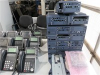 NEC SV8100 Phone System With (39) Handsets