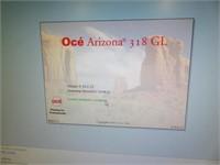 PAID $110,000 - 2017 OCE Arizona 318GL Flatbed UV