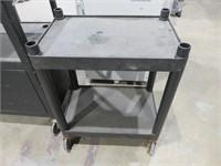 Black Resin Portable Cart