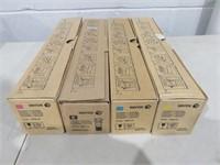 (4) Xerox Asst. Toners